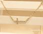 クロスネックレス ゴールド レディース ダイヤ ネックレス 十字架 人気